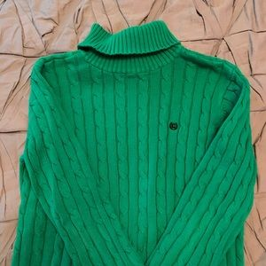 Women's size Large Chaps turtleneck sweater
